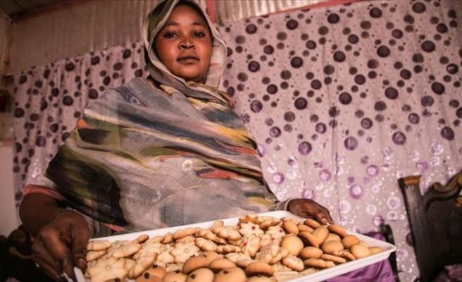 TİKA'nın desteklediği Sudanlı kadınlar üretime katkı sağlıyor