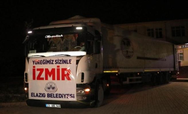Türkiye'nin her yerinden depremden etkilenen İzmir'e destek yağıyor