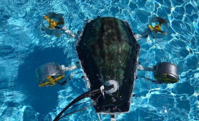 Balıkesir'de üniversiteliler su altı drone prototipi üretti