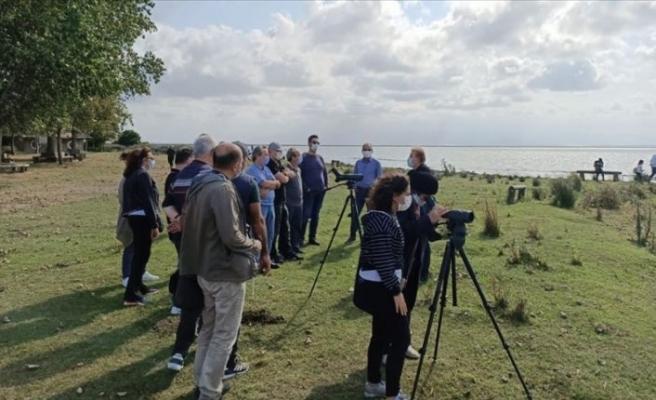 Kızılırmak Deltası ziyaretçilere 'doğal laboratuvar' ortamı sunuyor