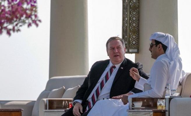 ABD Dışişleri Bakanı Mike Pompeo Katar'da
