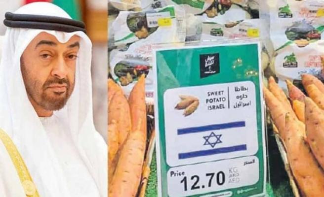 BAE'de İsrail bayraklı gıda satışı başladı!
