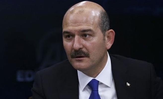 Bakan Süleyman Soylu'dan minik Ayda'ya ziyaret