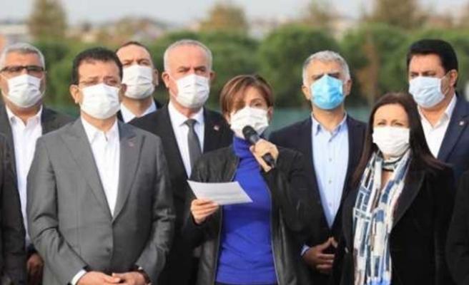 CHP İstanbul teşkilatı ve belediye başkanlarından Alaattin Çakıcı açıklaması