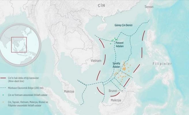 Çin'e ait sahil güvenlik gemisi Malezya kara sularına izinsiz girdi