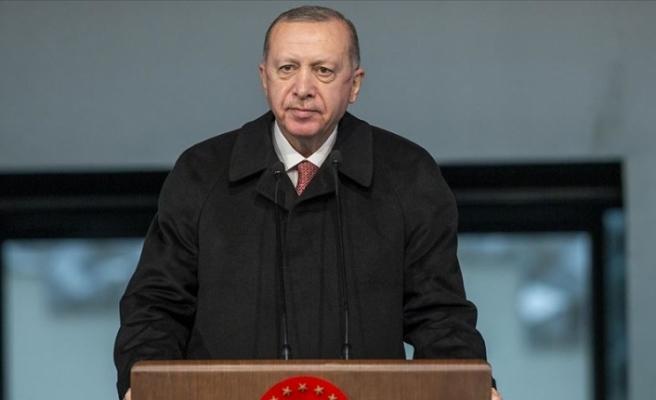 Erdoğan: KKTC ile dayanışmanın en önemli nişanesi bu acil durum hastanesidir