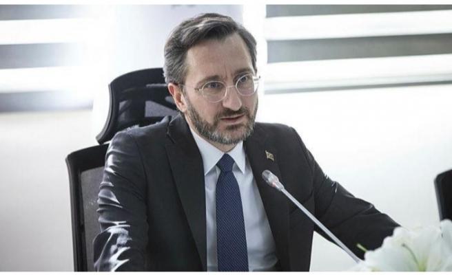 İletişim Başkanı Fahrettin Altun'dan Ahmet Kekeç'e duygu dolu veda!