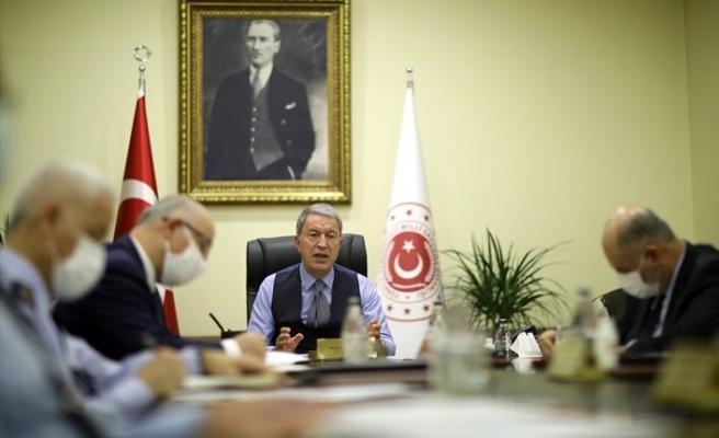 Bakan Akar'dan Karabağ açıklaması: Rusya ile çalışmalar sürüyor