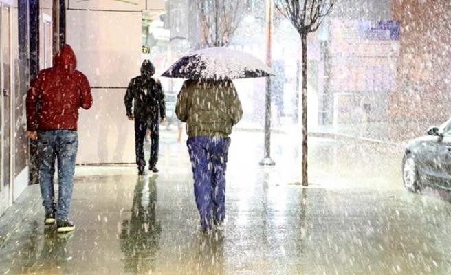 Meteoroloji uyardı, 5 ilde kar yağışı bekleniyor