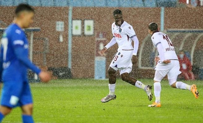 Trabzonspor Abdullah Avcı'yla zor da olsa kazandı: 1-0