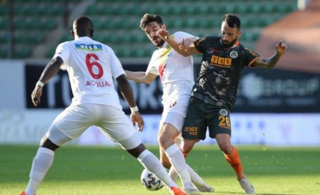Alanyaspor Yeni Malatyaspor'a takıldı: 1-1