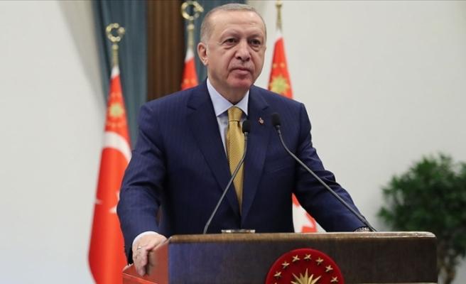 Cumhurbaşkanı Erdoğan'dan İstanbul Latin Katolik Cemaati Ruhani Reisi Gonzalez için başsağlığı mesajı
