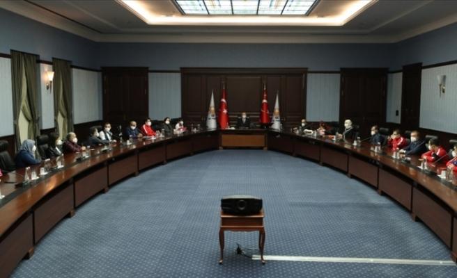 Cumhurbaşkanı Erdoğan, engelli sporcuları ve ailelerini kabul etti