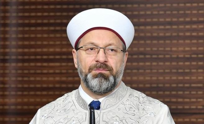 Diyanet İşleri Başkanı Ali Erbaş'tan aile bütünlüğü vurgusu