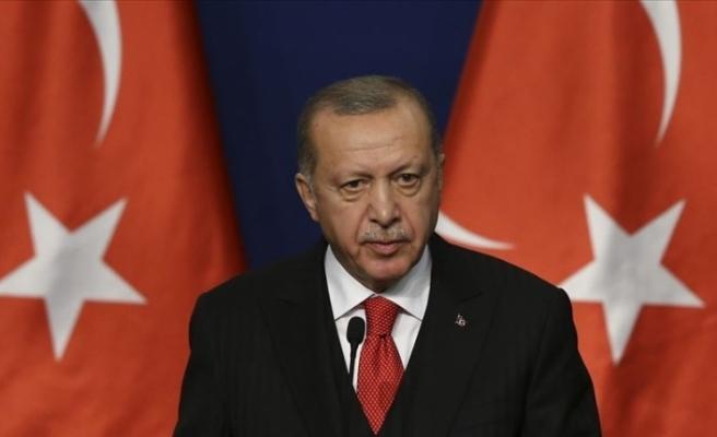 Cumhurbaşkanı Erdoğan şehidin ailesine başsağlığı mesajı gönderdi