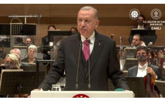 Cumhurbaşkanı Erdoğan: Sanatçılar arasında ayrım yapan eski Türkiye manzarasına son verdik!