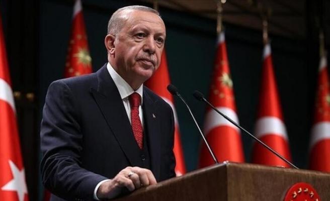 Cumhurbaşkanı Erdoğan, Azerbaycan'daki Türk askerlerine hitap etti