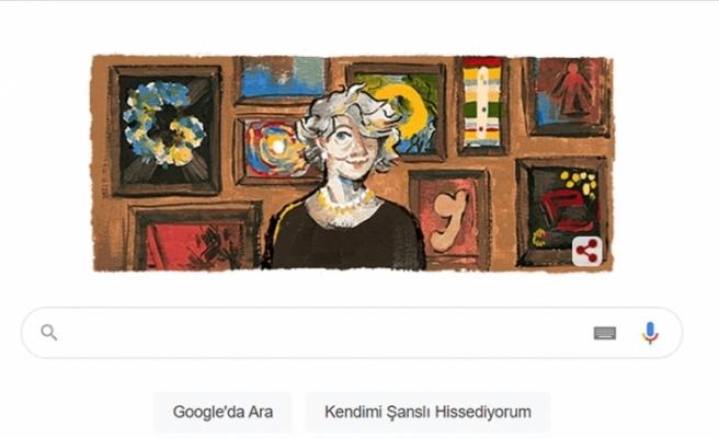 Google'dan gravür sanatçısı Aliye Berger'in 117. doğum gününe özel 'doodle'