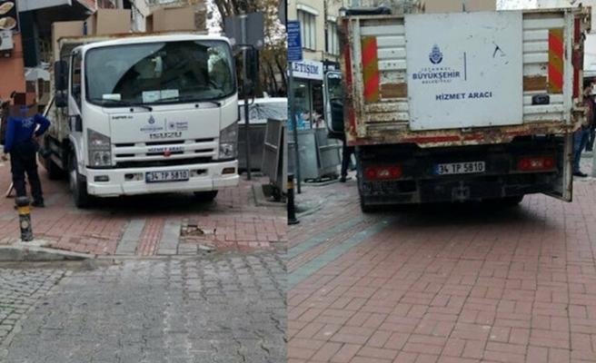 İYİ Parti eşyaları İBB araçlarıyla taşındı