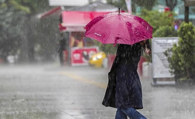 Meteoroloji uyardı: Akdeniz, Ege ve Trakya sahilleri yağışlı