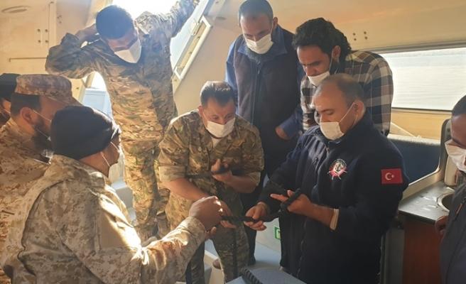 TSK'dan Libya ordusuna sualtı savunma eğitimi desteği
