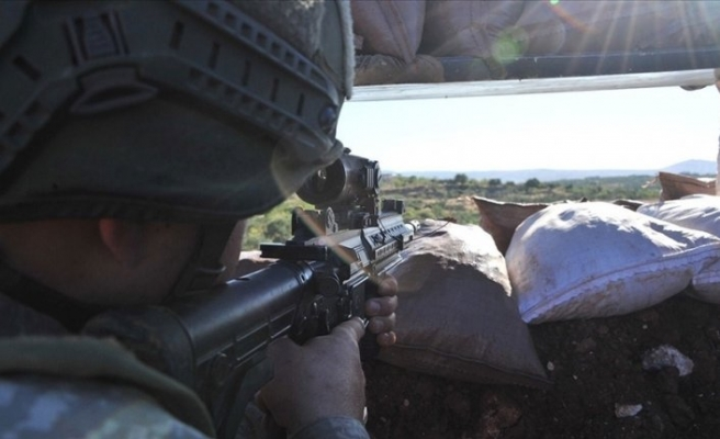 Barış Pınarı bölgesinde 5 terörist öldürüldü