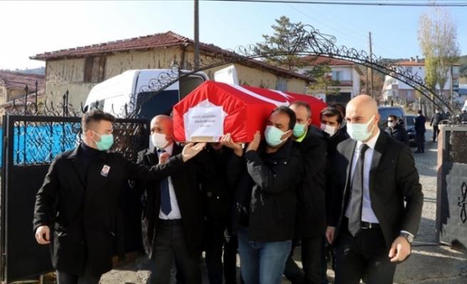TBMM Başkanı Mustafa Şentop'un koruma polisi Çankırı'da defnedildi