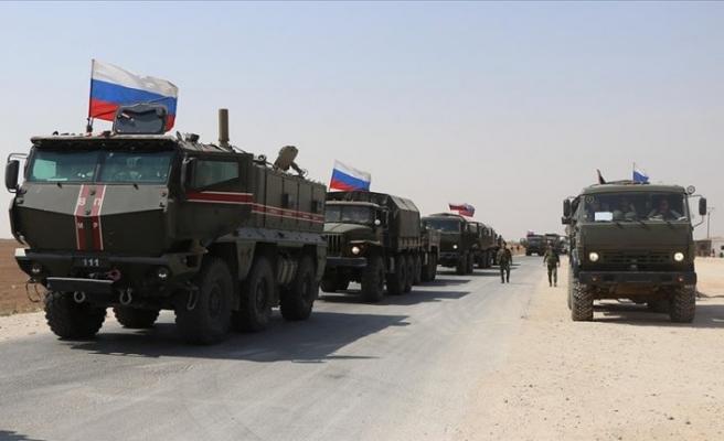 Rusya son bir aydır Kamışlı'ya asker yığıyor