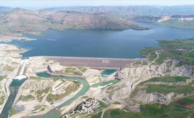 Ilısu Prof. Dr. Veysel Eroğlu Barajı tam kapasite enerji üretimine başladı