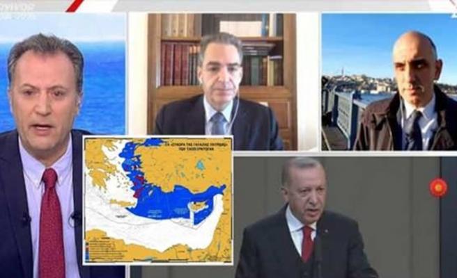 Yunan televizyonunda skandal: Hedef Türkiye