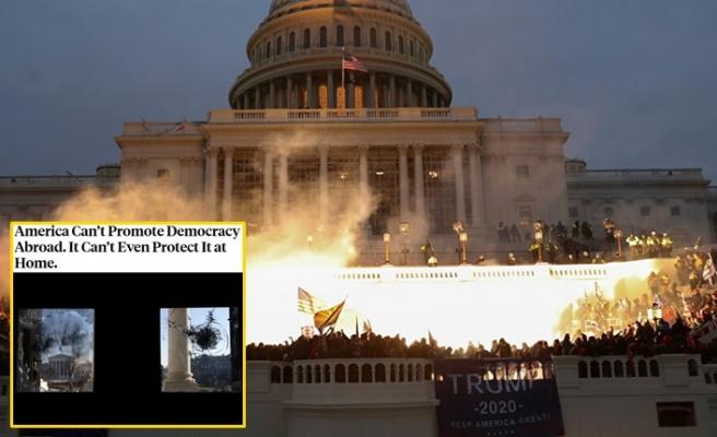 Foreign Policy: Amerika yurt dışında demokrasiyi teşvik edemez