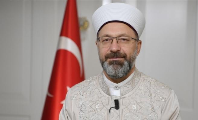 Diyanet İşleri Başkanı Ali Erbaş'tan Mescid-i Aksa baskınına tepki
