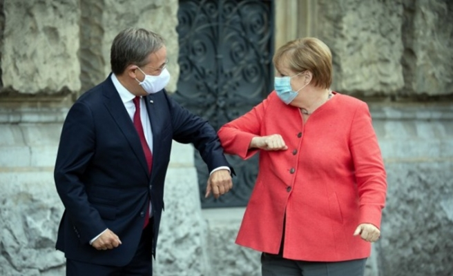 Almanya Başbakanı Merkel'in halefi Laschet