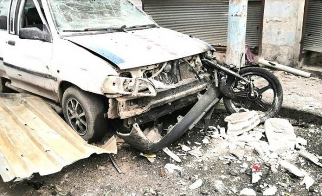 Cerablus'ta bombalı terör saldırısı: 3 yaralı