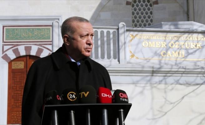Erdoğan: ABD'deki olaylar demokrasinin yüz karasıdır