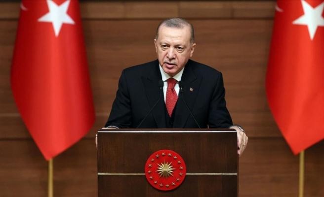 Erdoğan'dan  Kültür ve Turizm Bakanlığı 2019-2020 Özel Ödülleri Töreni'nde önemli açıklamalar