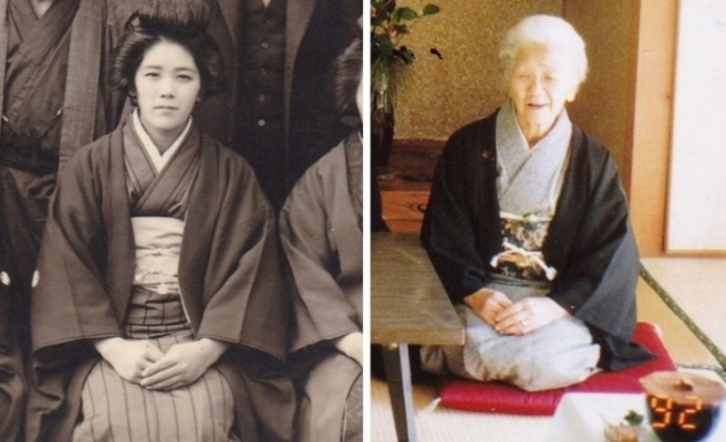 Guinness'e giren dünyanın en yaşlı insanı: Kane Tanako