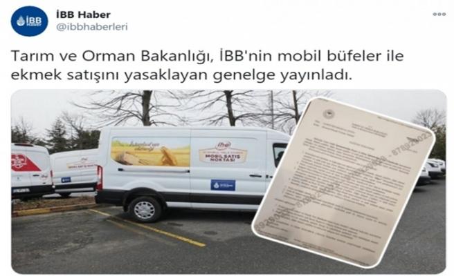 Bakanlık 'İBB'nin mobil büfelerinin yasaklandığı' haberini yalanladı