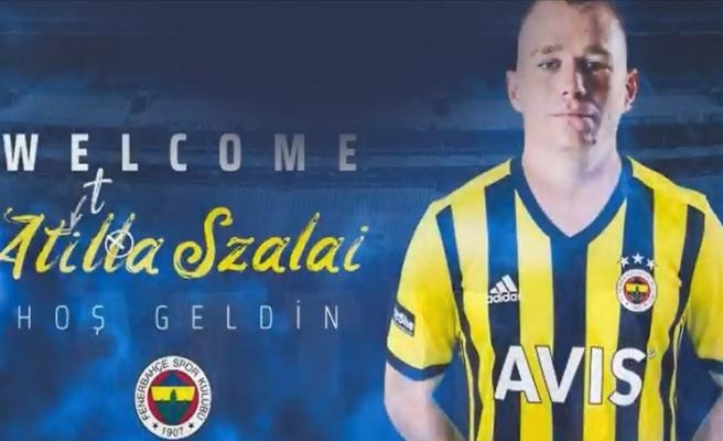 Attila Slazai Fenerbahçe ile 4,5 yıllık sözleşme imzaladı