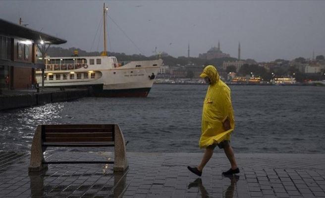 Meteoroloji uyardı: Sağanak ve rüzgara dikkat