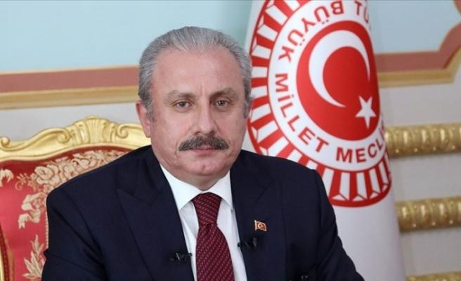 TBMM Başkanı Mustafa Şentop'tan Rauf Denktaş için mesaj