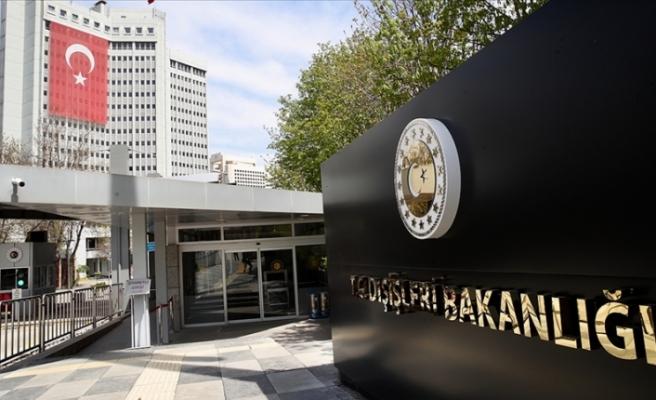 Türkiye'den Madrid'deki patlamada ölenler için İspanya'ya taziye mesajı