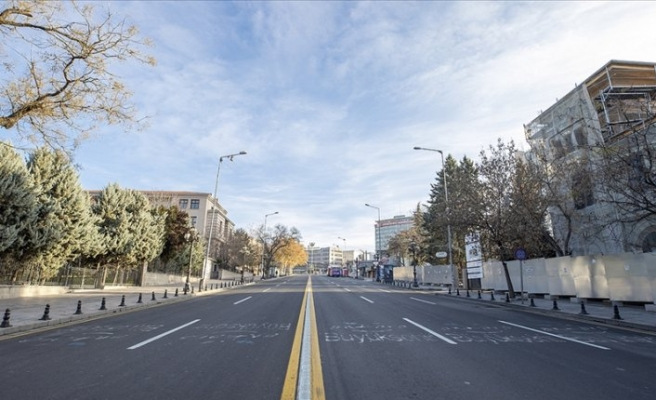 Yeni yılda sokaklarda sessizlik hakim