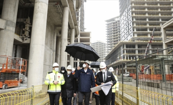 İstanbul Finans Merkezi Projesi yüzde 60 seviyesinde