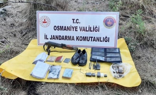 Amanoslar'da PKK'ya ait çok sayıda mühimmat yakalandı