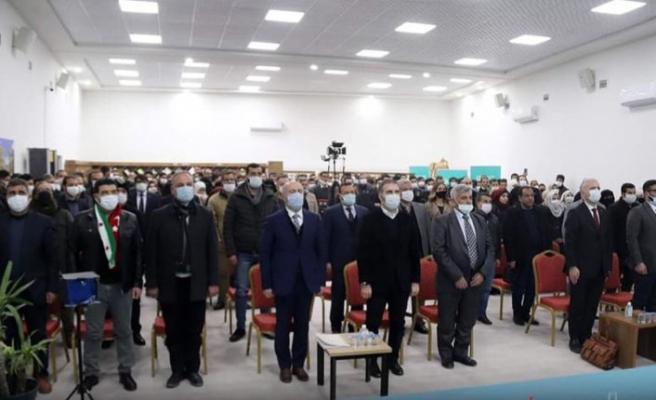 Azez Yunus Emre Enstitüsü ilk mezunlarını verdi