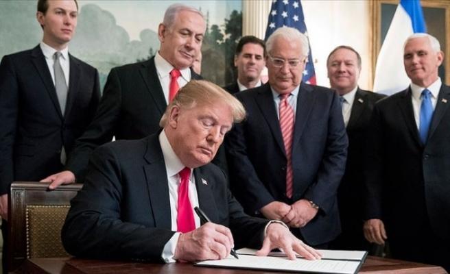 Biden, Trump'ın Yüzyılın Anlaşması'nı rafa kaldırıyor