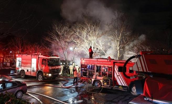 BoğaziçiÜniversitesi Hisar Kampüsü'nde yangın