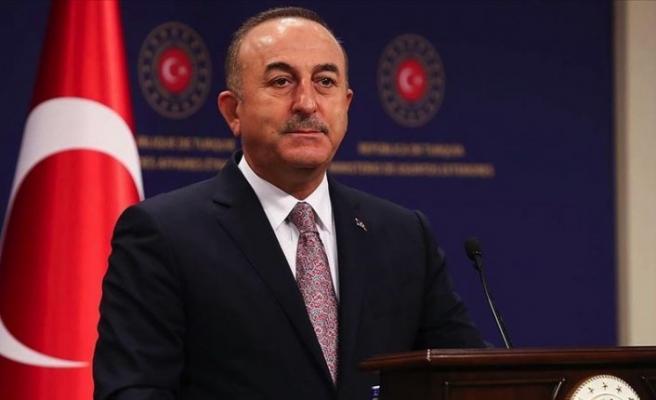 Çavuşoğlu'ndan Batı'ya sert tepki: 'Benim teröristim kötü, senin teröristin iyi'