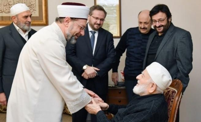 Diyanet İşleri Başkanı Erbaş, M. Emin Saraç Hocaefendi'yi anlattı